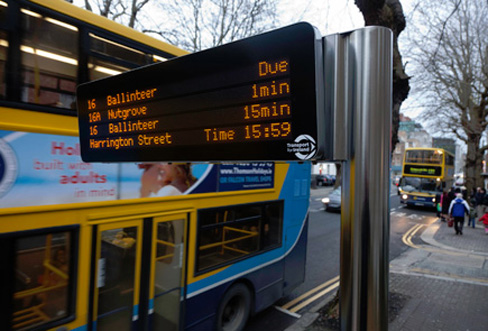 passenger-information-display-dublin-bus